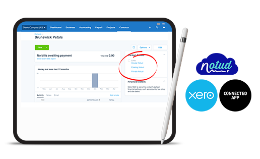 Xero and Notud demo