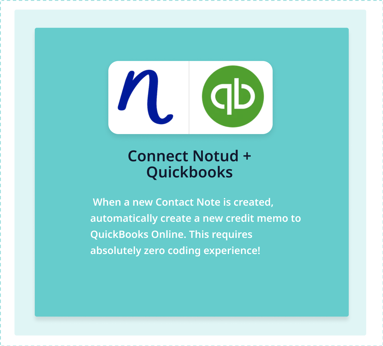 Connect Notud to Quickbooks